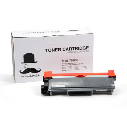 Brother TN-660 Compatible Black Toner Cartridge High Yield